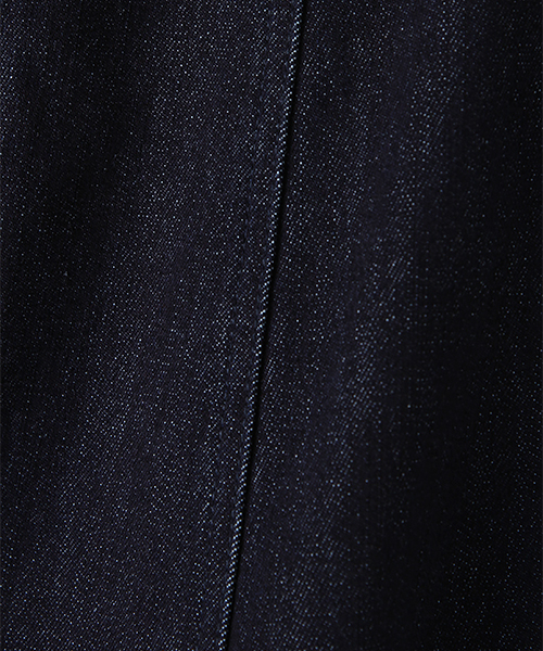 ストレッチデニム8枚ハギフレアースカート