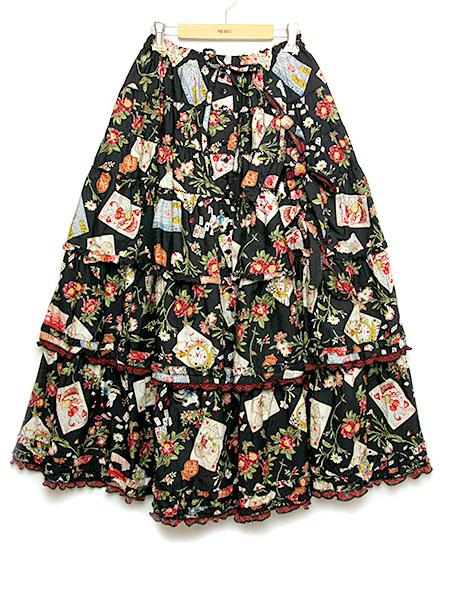 ★AUTUMN FAIR★クイーンアリスプリントスカート