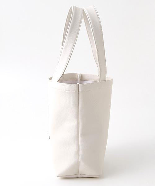 【EC先行販売】ロゴ&カメリアプリントミニトートバッグ
