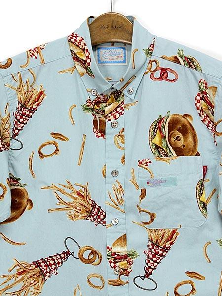 ハンバーガーカールくんプリントシャツ