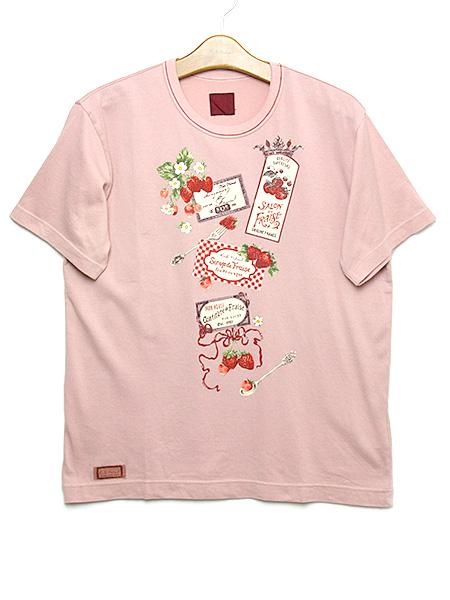 サロンドフレーズプリントTシャツ