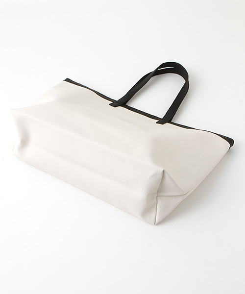 【EC先行販売】ロゴ&カメリアプリントBIGトートバッグ