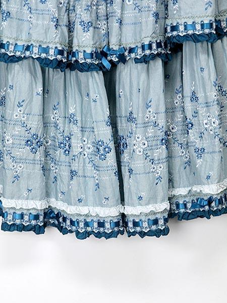 チャルダッシュスカート