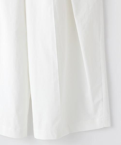 リボンアクセントラップ風パンツ