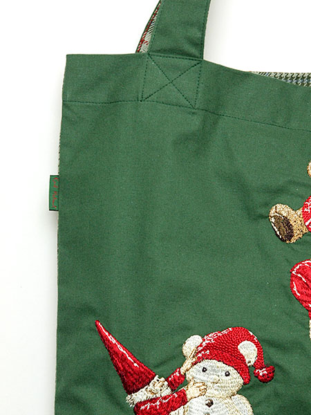 ノームとKARLくん刺繍バッグ
