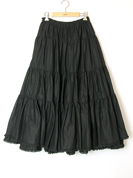 ローンティアードスカート