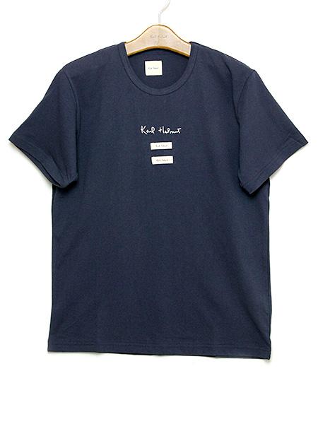 ロゴ&ネームTシャツ