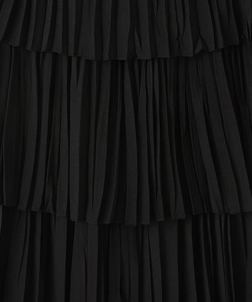 スパンローンプリーツスカート