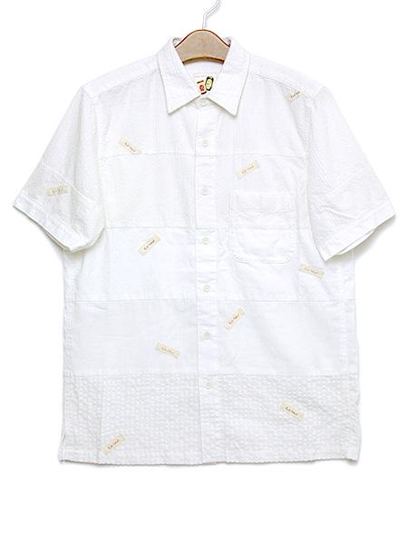 *ランダムネーム&パッチワークシャツブラウス