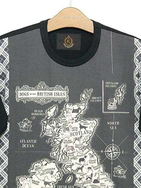 ブリティッシュドックスプリントTシャツ