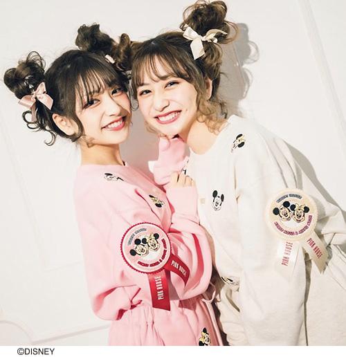 ★オンライン先行販売★ミッキー&ミニー/サガラワッペン