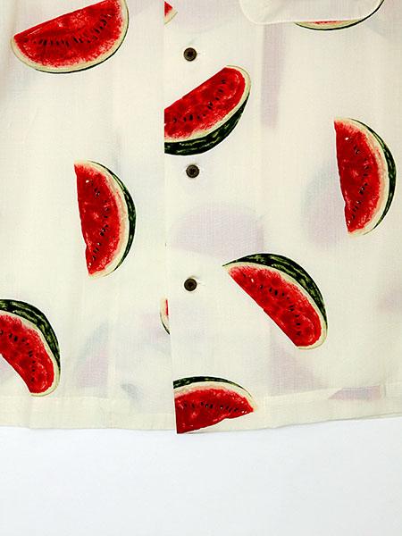 カールヘルムプリントアロハシャツ