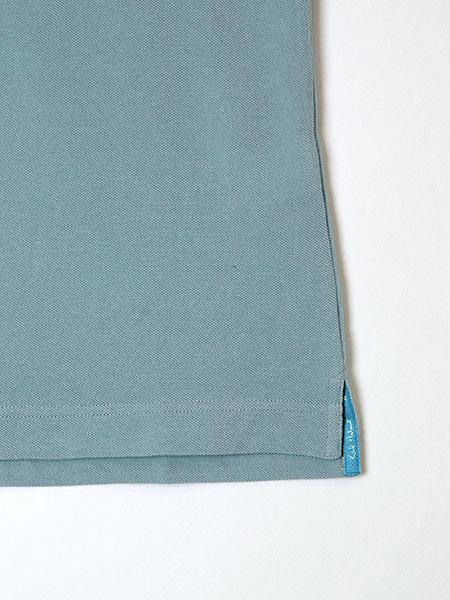エアデールテリアワッペン付きカノコポロシャツ