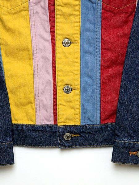 【OUTLET】<50%off>フライングKARLくん刺繍&ワッペン入りデニムジャケット