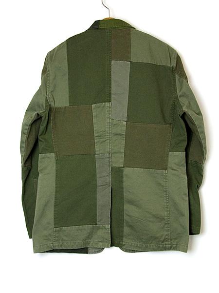 ピーチツイルパッチワークジャケット