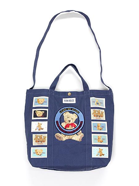 テディベアクラブ刺繍2WAYバッグ