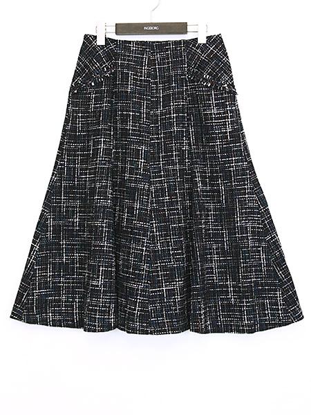 【OUTLET】<50%off>スラブミックスツイードスカート