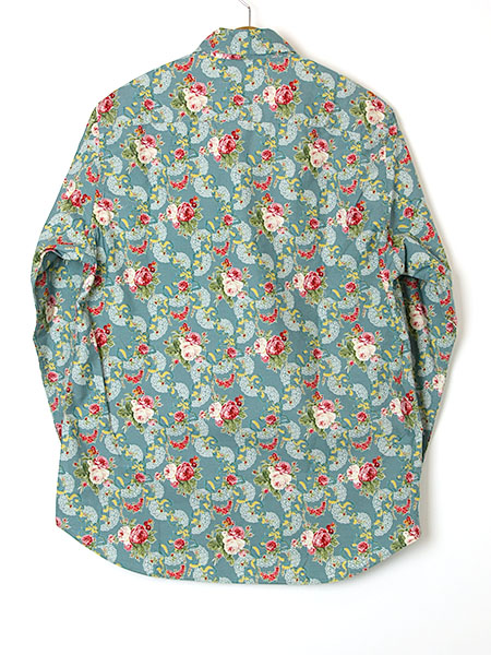 【OUTLET】<60%off> スコッティローズプリントシャツブラウス