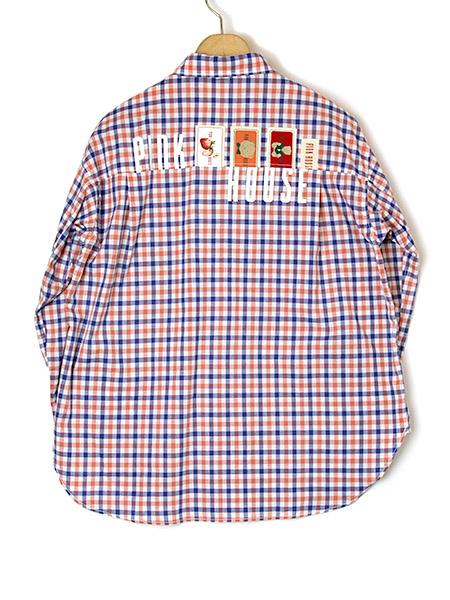 バックロゴ&ネームシャツブラウス