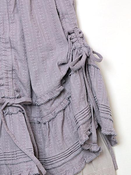 カラミドビーストライプスカート