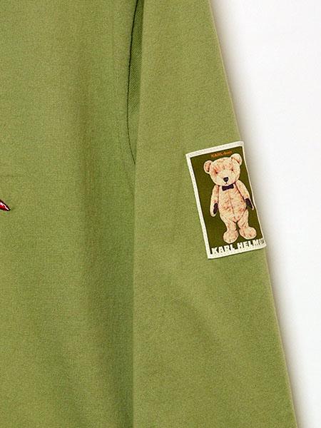ノームとKARLくん刺繍カットソー