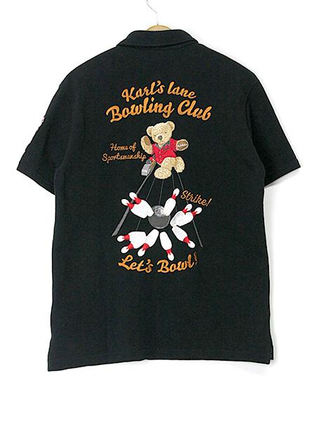 *カールスレーン刺繍ポロシャツ