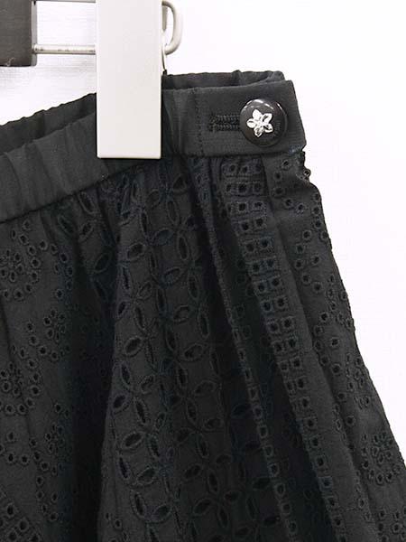 【OUTLET】<70%off>★コットンエンブロイダリースカート