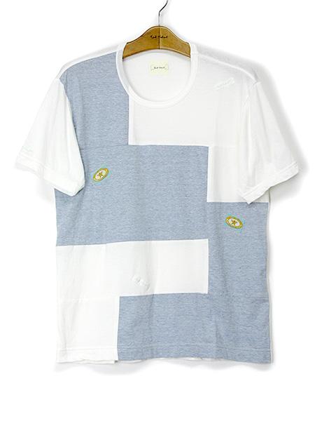 ネーム使いブロッキングTシャツ