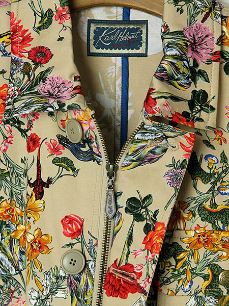 【OUTLET】<60%off> ボタニカルフラワープリントジャケット