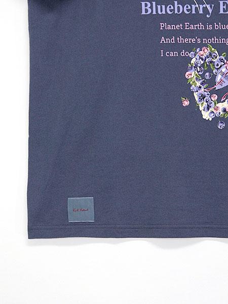 ブルーベリーアイズプリントTシャツ