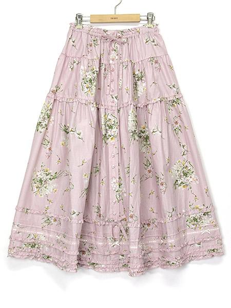 リリープリントスカート