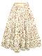 花迷子のハチドリプリントスカート