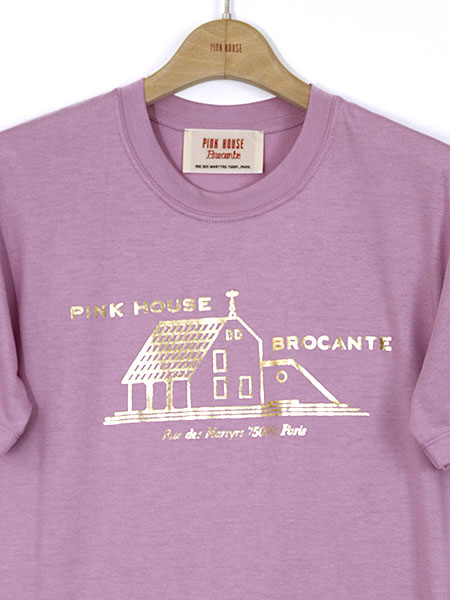 【OUTLET】<50%off> Gold Houseプリントカットソー