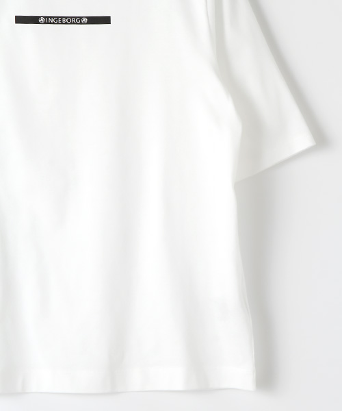 【OUTLET】<50%off>インゲボルグミニロゴカットソー