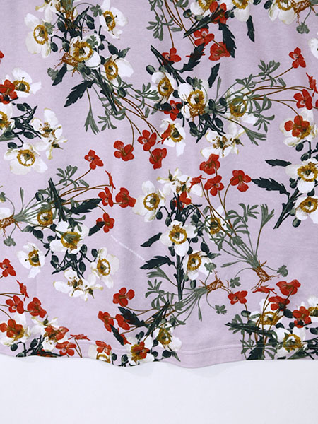 【OUTLET】<50%off> 重ね花プリントジャンパースカート
