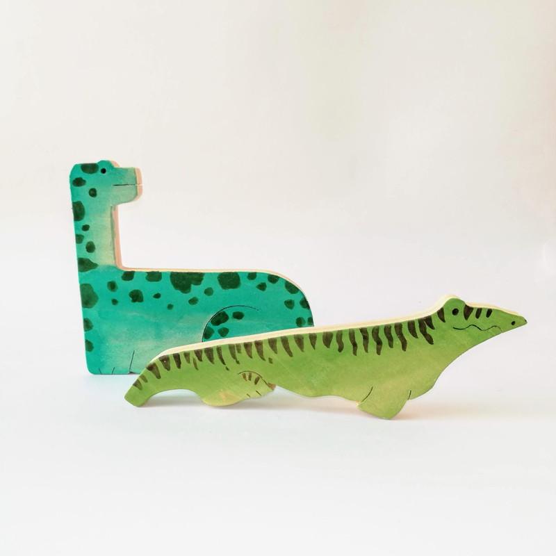 9匹の恐竜 パズル(157-40) byあしたば作業所