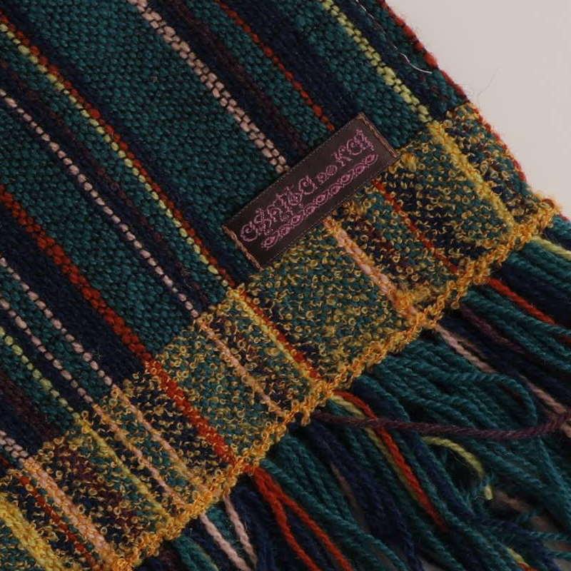 手織りマフラー3  by  ashita no kai (杉並・あしたの会福祉作業所)