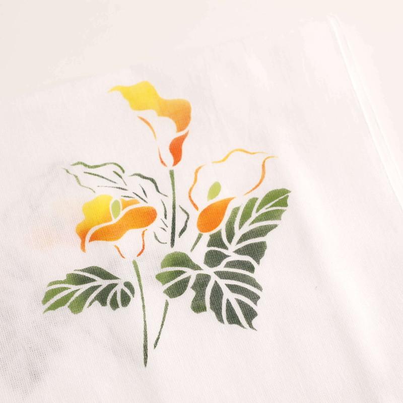 てぬぐい・花柄 おまかせ3本セット  by ashita no kai (杉並・あしたの会福祉作業所)