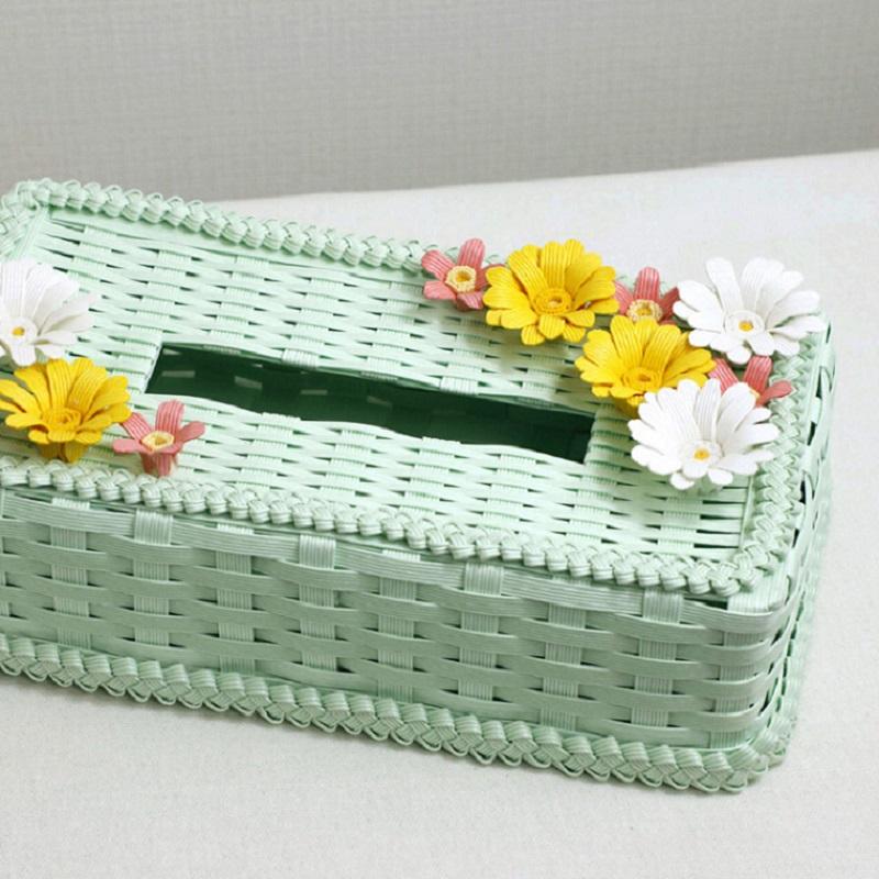 ティッシュボックスケース by 太陽工房
