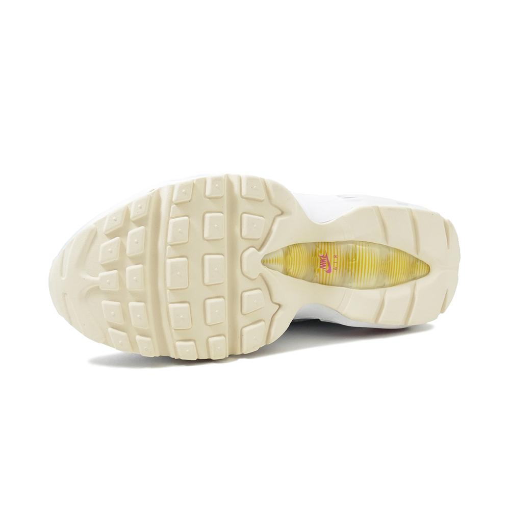 スニーカー ナイキ NIKE ウィメンズエアマックス95 フットボールグレー/ファイアピンク/セイル/ホワイト CI3710-001 レディース シューズ 靴 20SP
