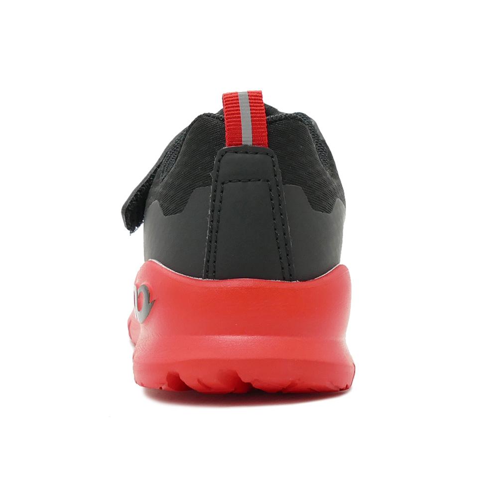 スニーカー アンリミティブ UNLIMITIV 防水タイプ W-01-F 面ファスナー レッド 2523368-RED キッズ シューズ 靴 20SS