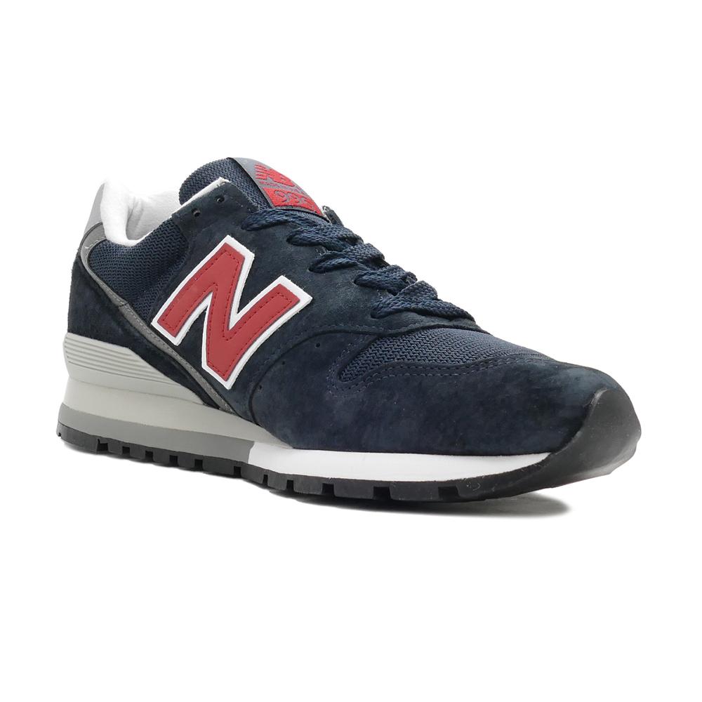 スニーカー ニューバランス NEW BALANCE M996NRJ ネイビー/レッド M996-NRJ NB メンズ シューズ 靴