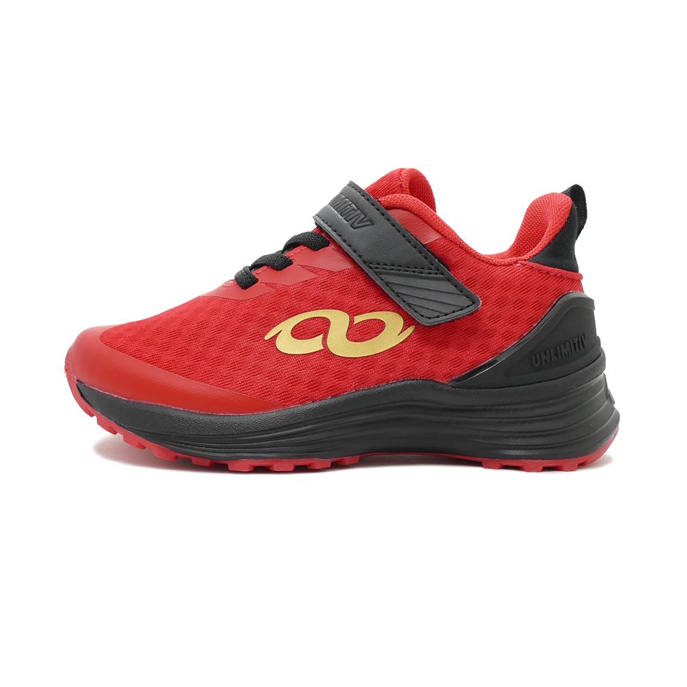 スニーカー アンリミティブ UNLIMITIV S-LINE S-01-F 面ファスナー レッド 2507490-RED キッズ シューズ 靴 20SS