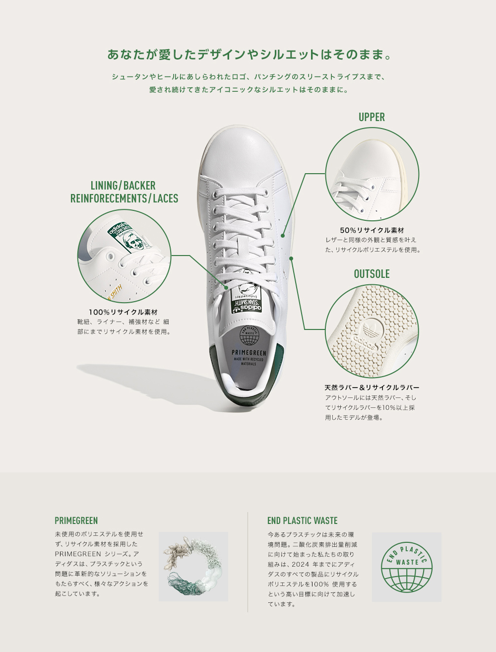 スニーカー アディダス adidas スタンスミスJ モンスターズインク フットウェアホワイト/パントーン 白 GY3532 ジュニア レディース シューズ 靴 21FW