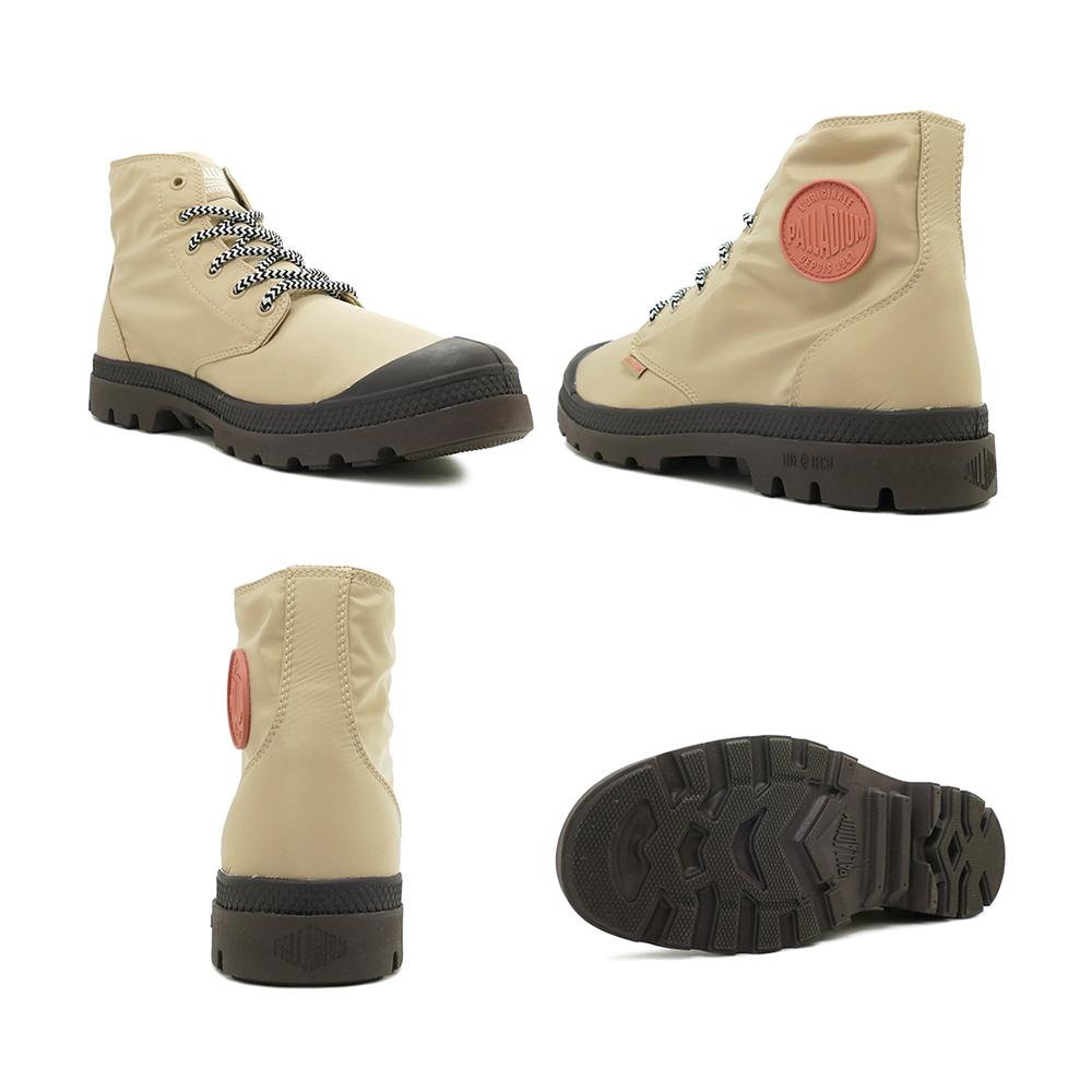 スニーカー パラディウム PALLADIUM パンパパドルライトウォータープルーフ+ サファリ/チョコレート メンズ レディース シューズ 靴 19FW
