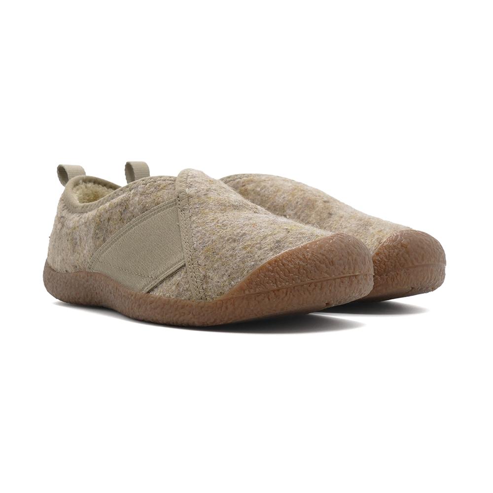 スニーカー キーン KEEN ウィメンズハウザーラップ トープフェルト/プラザトープ ベージュ 1025536 レディース シューズ 靴