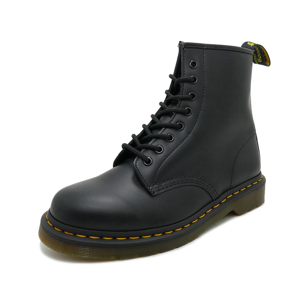 Dr.Martens 1460 8 EYE BOOT【ドクターマーチン 1460 8ホールブーツ】BLACK SMOOTH(ブラックスムース)10072004