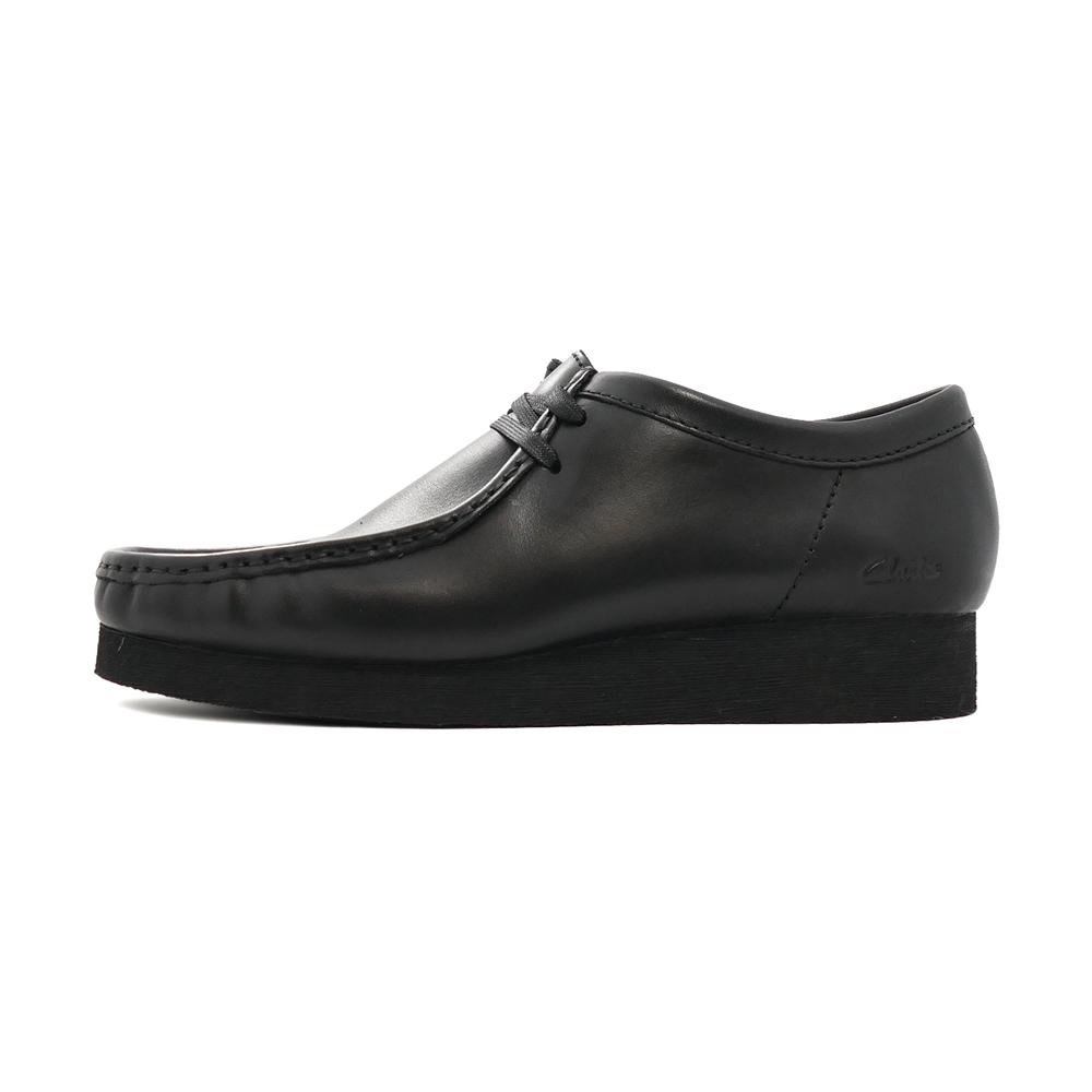 ブーツ クラークス Clarks メンズ ワラビー2 ブラックレザー 黒 26158280 メンズ シューズ 靴 21SS