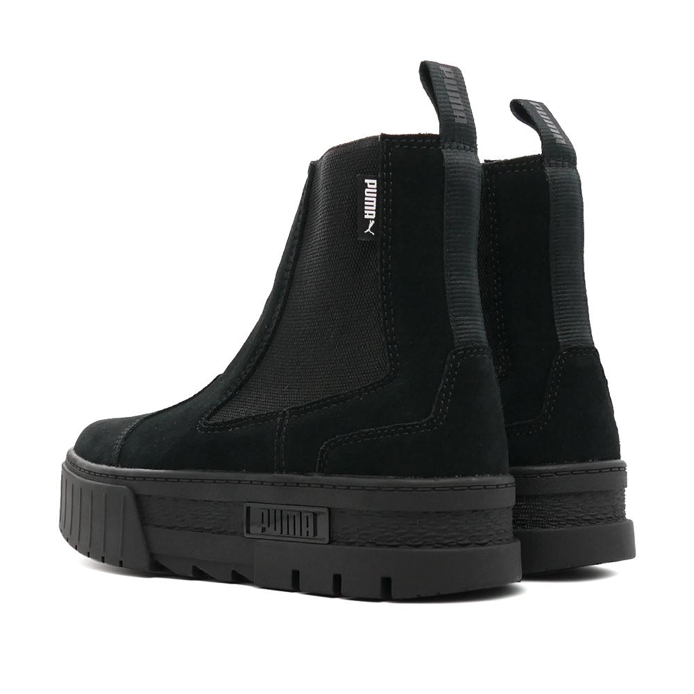 ブーツ プーマ PUMA メイズチェルシースウェードウィメンズ プーマブラック 黒 382829-01 レディース シューズ 靴 21FA