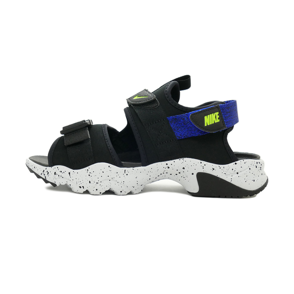 サンダル ナイキ NIKE キャニオンサンダル ブラック/ボルト/レーサーブルー/ピュアプラチナ CI8797-009 メンズ シューズ 靴 21FA
